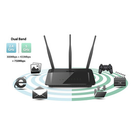 Router D-link Dir-809/lla - Wireless-dual Band- 200m2