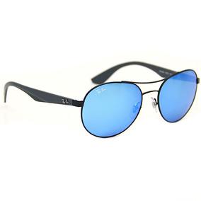 dd8f3afcbbd42 Oculos Redondo Ray Ban Azul De Sol Aviator - Óculos no Mercado Livre ...