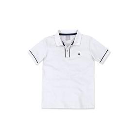 Camisa Polo Básica Infantil Menino Hering 53c2 4565aec6dc1e5