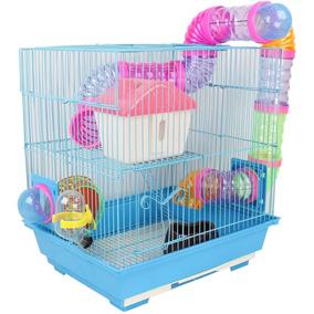 Gaiola Labirinto 2 Andares Para Hamsters E Roedores