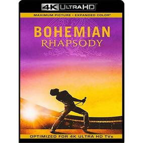 Bohemian Rhapsody 4k Hdr Bluray Digital + Material Extra