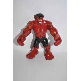 Hulk Rojo Articulado De Marvel