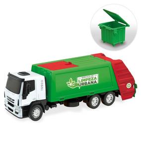 Brinquedo Caminhão Menino Iveco Coletor Lixo