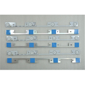 Kit 6 Barras De Led De Aluminio Tv Semp 40l2400 Kdl39ss662u