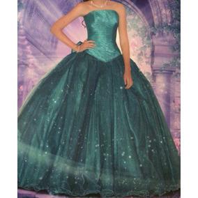 d089b9fc01 Vestido Xv Lagunilla Rojo - Vestidos de XV Largos de Mujer Verde en ...