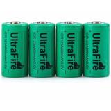 4 Baterias Cr123a Con Cargador De Pared