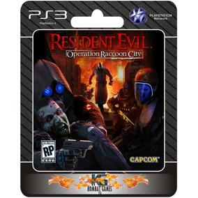 Resident Evil Operation Raccoon City (ps3 Digital)