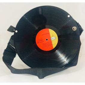 Bolsa Estilo Disco Acetato Unisex Nueva 30x30cm X71 322cb6aa4b1