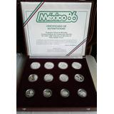 Coleccion 12 Monedas Mundial 1986 !!