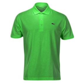Camisa Polo Lacoste Verde - Calçados, Roupas e Bolsas Verde claro no ... fe1f1b16f6