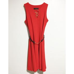 8d728466333 Vestido Fiesta Rojo Italiano Vestidos - Vestidos de Mujer en Mercado ...