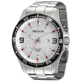 Relógio Seculus Masculino Long Life 28763g0svna1 Saldo