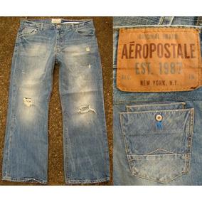 Jeans Aeropostale. Abercrombie. Original. Talla 30x30