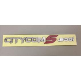 Emblema Citycom 300 S Original Com Nota Fiscal