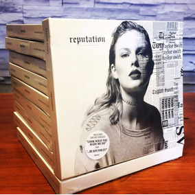 Cd Taylor Swift Reputation Cd Nuevo Original En Stock