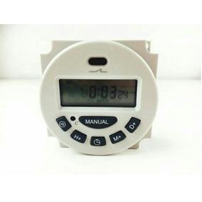 3 Timer 12v 16 Programas 24h/7d Temporizador Pronta Entrega