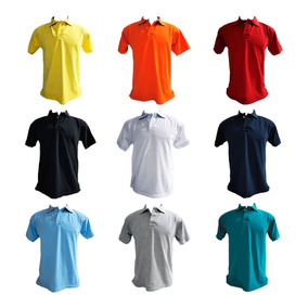 Kit 3 Camisa Polo Vario - Pólos Manga Curta Masculinas no Mercado ... 6d9c9d7670257