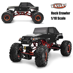 Carro Rc 1/10 De Hsp Coche Eléctrico Rc 4wd Off Road Rock