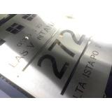 Letrero Acero Inoxidable 120x90 Cm Corte Láser Personalizado