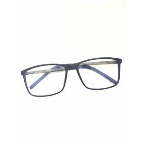 3ee9aff11 Oculo Grau Masculino Quadrado Fino - Óculos Azul no Mercado Livre Brasil