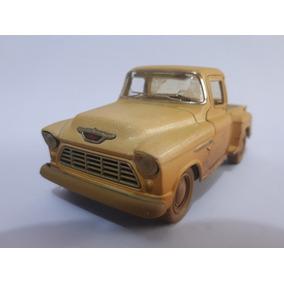 Miniatura De Metal Pick Chevy 1955 Kinsmart 1.32 Coleção