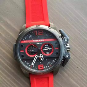 Reloj Diesel Rojo Dz4388 Sobrepedido