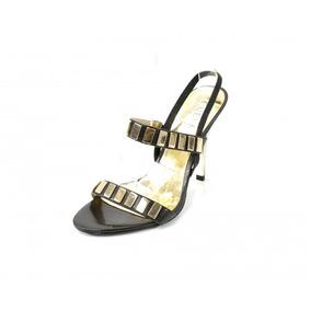 Zapatos Negros Con Dorado Guess By Marciano