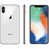 Apple Iphone X 64gb Silver Novo Lacrado