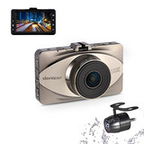 Denicer Dash Cam Front And Rear Sony Sensor Full Hd 1080p Ca