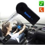Receptor Bluetooth Auto Y Parlante Handsfre Contesta Llamada