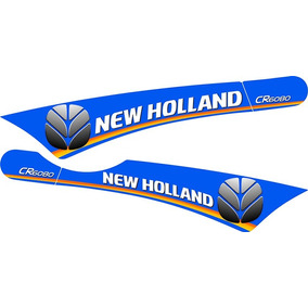 Kit Adesivos Colheitadeira New Holland Cr 6080