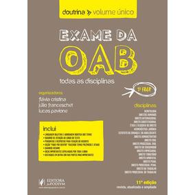 Exame Da Oab - Doutrina - Volume Único 2019