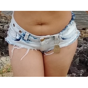 Micro 36/38 Short Jeans Sexy Remasterizado Custon Gostosa Xx