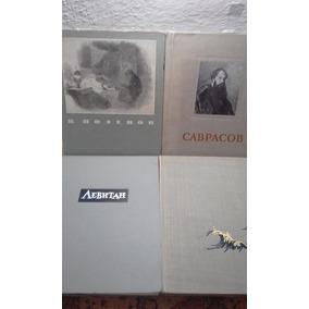 Livros De Arte Antigos E Raros, Impressos Na União Soviética