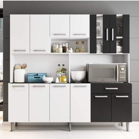 Armário De Cozinha 12 Portas 1 Gaveta Clara Poliman Fb