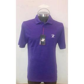 Camisa Beverlyhills Polo Club Talla M Violeta