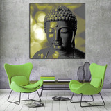 Cuadro Buda Gold 04- Lienzo Tela-canvas Calidad Museo