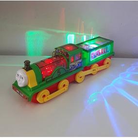 Trenzinho Trem Musical E Com Luz - Bate E Volta Thomaz