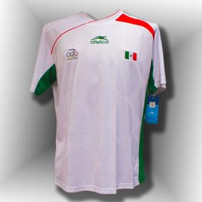 Jersey Clasico Del Comite Olimpico Méxicano Atenas 2004 a42a2730cc264
