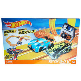 Pista Hot Wheels Slot Car Track Set 380cm Br082 - Multikids