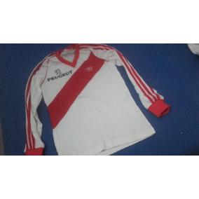 Camiseta Antigua Original adidas River Publicidad Peugeot