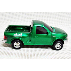 Carro Pick Up Verde 4x4 Off Road Fricção Plastico 21 Cm Bau2