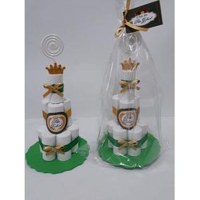 Kit Com 20 Mini Bolos Lembrancinhas
