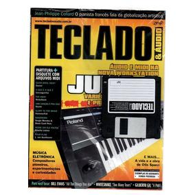 Revista Cifras Teclado E Audio Com Disquete 4 Kits Ano 2006