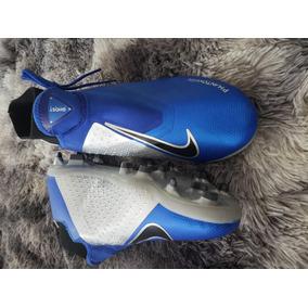 fcd8be9289123 Meia Nike Cano Alto Azul - Chuteiras para Campo no Mercado Livre Brasil