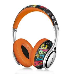 Fone De Ouvido Sem Fio Bluetooth Bluedio A2 ( Cor Laranja)