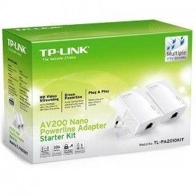 Tp-link Tl-pa2010 Kit Powerline Ethernet 200mb