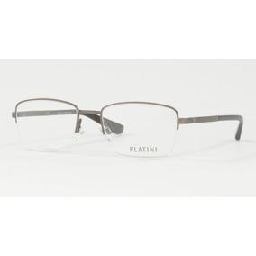 Óculos De Grau Platini Masculino Metal P 91160 Tam.52 dbabb8b19b