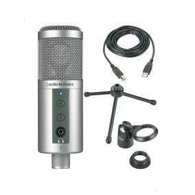 Microfono Audio Tecnica Usb Atr2500 De Condensador Cardioide
