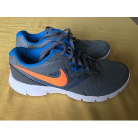 Tenis Nike Para Niño Talla 7y De 25cm Gris Con Naranja Nuevo e5402476ae7